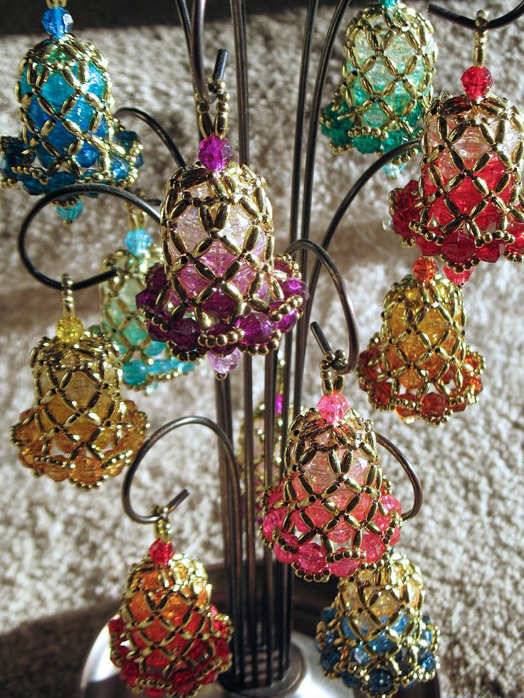 Images about bell ornaments on pinterest beaded