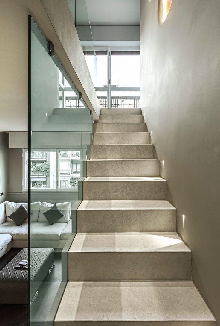 Oltre 25 fantastiche idee su scale interne su pinterest - Scale appartamento interne ...