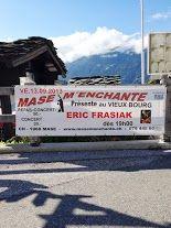 Annonce du concert d'Eric Frasiak, vendredi 13 septembre, repas-concert