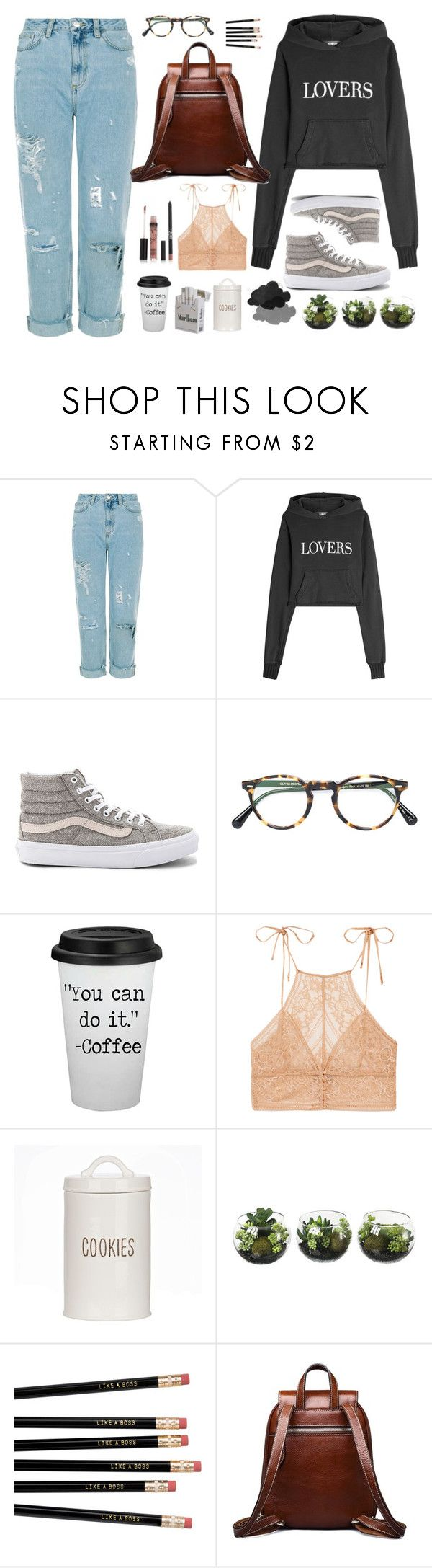 """""""Nothing but troubles"""" by cecililaria ❤ liked on Polyvore featuring AMIRI, Vans, Oliver Peoples and STELLA McCARTNEY"""