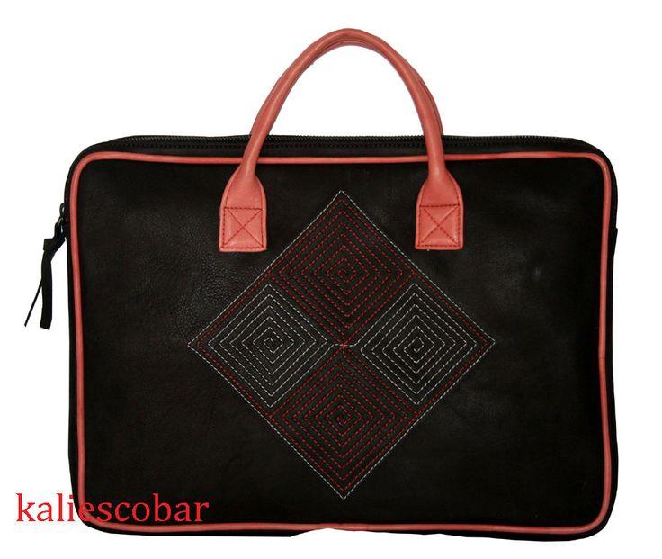 New Business Leather Laptop Briefcase Handbag Messenger Bag Mens Bag Tote Bag #Handmade #ToteBag