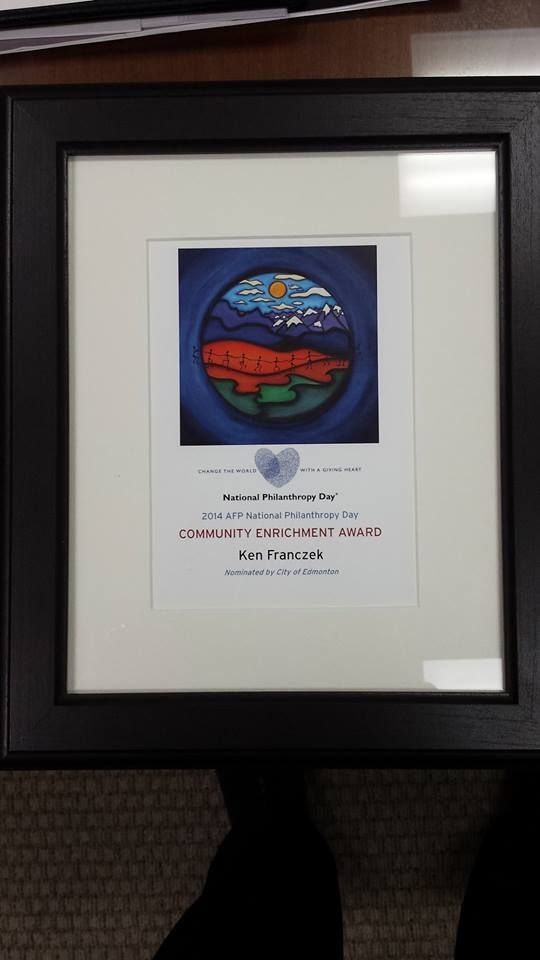 Our GM Mr. Ken Franczek received a great honour from the city of Edmonton, Alberta yesterday! We would like to congratulate him for receiving such a great award. http://www.crystalglass.ca/ #CrystalGlass #Glass  READ MORE: http://www.crystalglass.ca/news/163-community-enrichment-award-presented-to-ken-franczek