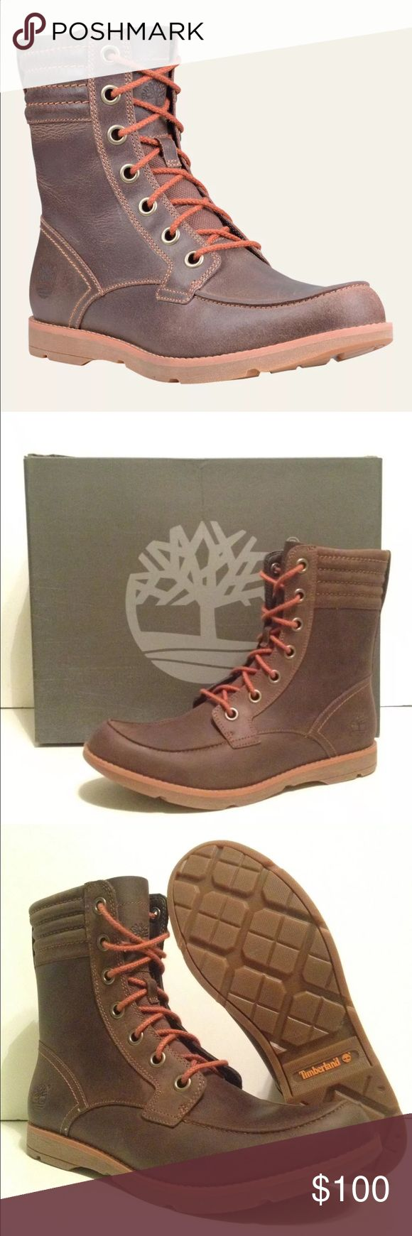 Women TIMBERLAND boots Women's Timberland Sumter Inch  Boots  Brown Style: A11S1 Timberland Shoes Lace Up Boots
