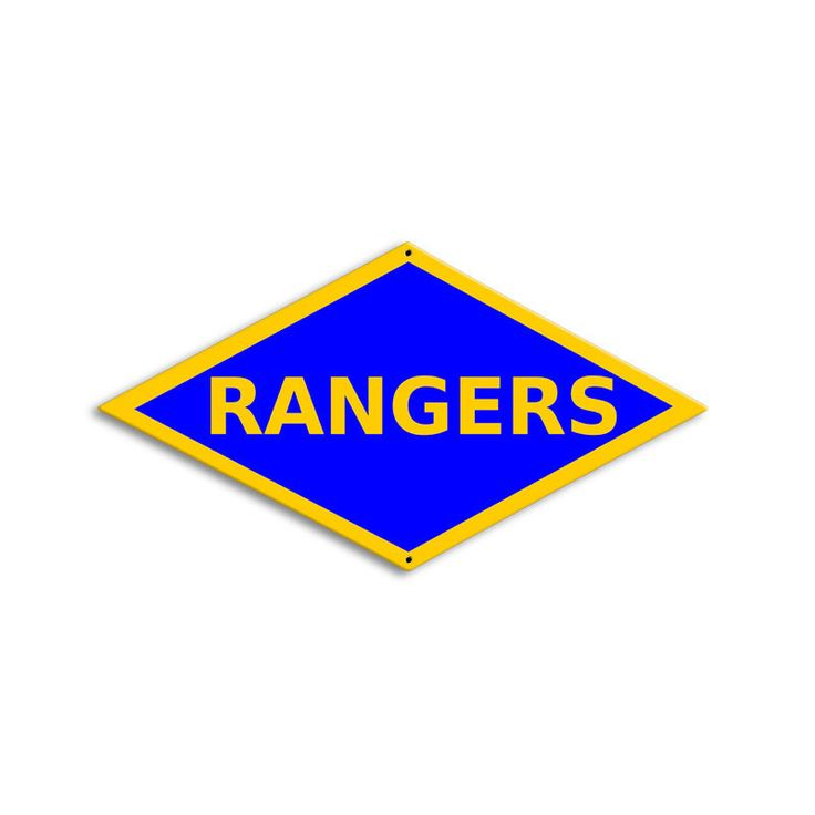 WWII Ranger Division Sign
