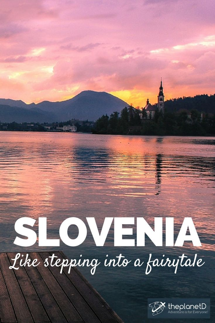 Visiting Slovenia is like stepping into a fairytale. It's a wonderland of ever-changing scenery and ethereal beauty of the nature | Why you should travel to Slovenia right now | The Planet D Adventure Travel Blog