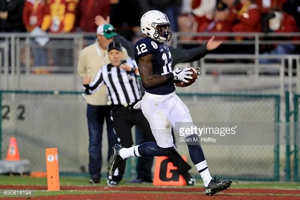 News Photo : Wide receiver Chris Godwin of the Penn State...