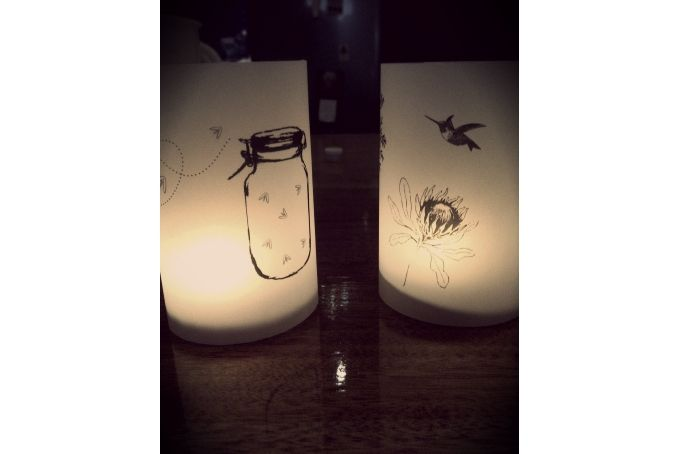 Paper Lanterns by Paper Concepts on hellopretty.co.za