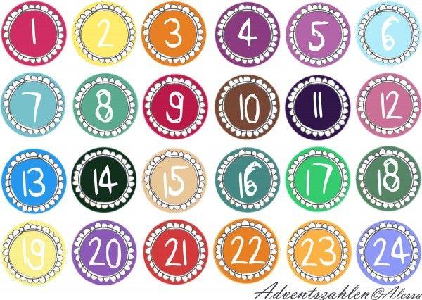 Eine Vorlage zum Ausdrucken mit Anleitung zum Selberbasteln eines Adventskalenders: http://www.my-dress-codes.de/magazin/adventskalender-selber-machen/