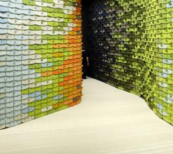 The North Tiles - A showroom for Kvadrat in Stockholm