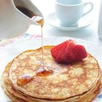 Cream Cheese Pancakes (Low Carb and Gluten Free)