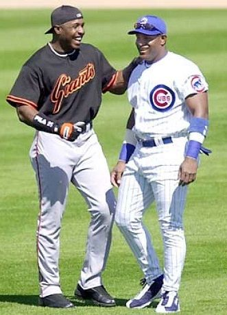 Barry Bonds & Sammy Sosa