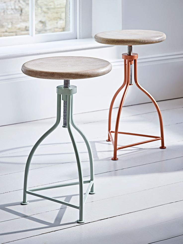 NEW Elegant Twist Stool - Duck Egg - Stools, Chairs & Benches - Furniture