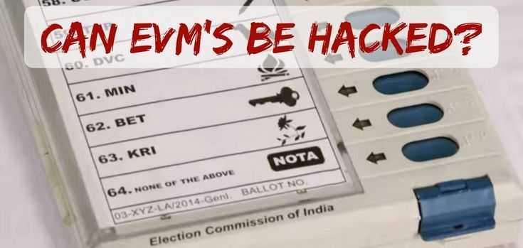 Hackathon By Election Commission To Determine Whether Electronic Voting Machines Can Be Hacked Or Not
