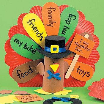 Thanksgiving project - thankful turkey