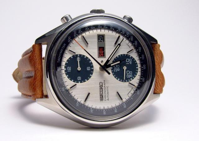 vintage seiko watch 6138-8020