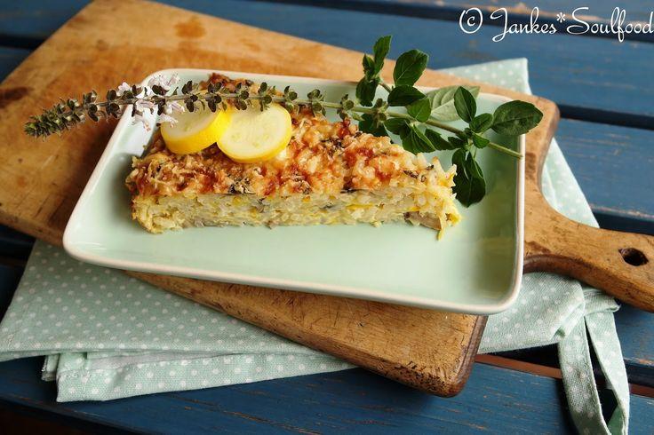 Zucchini-Reis-Auflauf - Jankes Soulfood