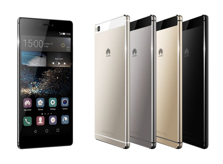 Huawei launches flagship 5.2 Ascend P8 smartphone and 6.8 P8max phablet