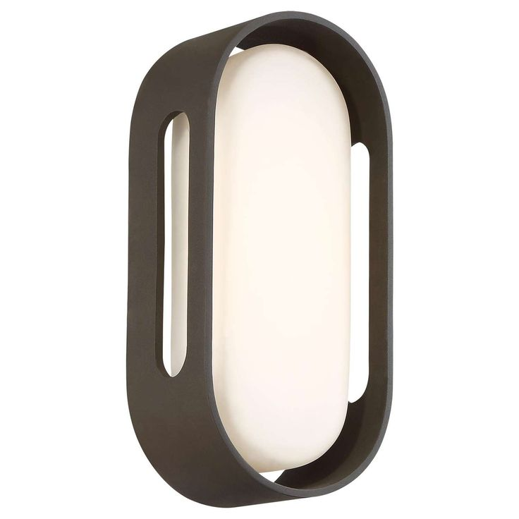 Outside Floating Oval P1281 LED Outdoor Wall Sconce