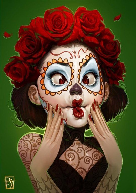 Muerte?! by Antonio De Luca from inprnt.com on Wanelo