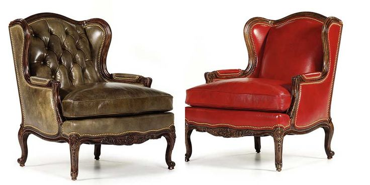 HANCOCK_and_MOORE кожаные кресла