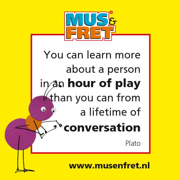 You can learn more about a person in an hour of play, than you can from a lifetime of converstation – Plato