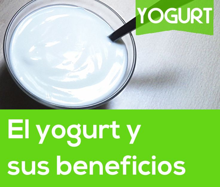 El yogurt y sus beneficios  #yogurt #salud #dieta #vidasana