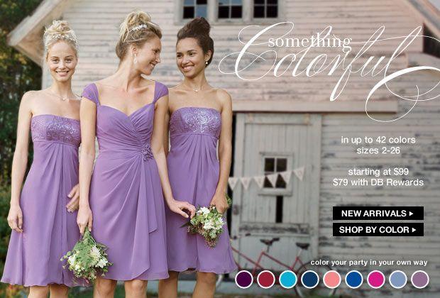 Wisteria bridesmaids dresses from David's Bridal - Shop All Bridesmaid Dresses and Bridal Party Dresses