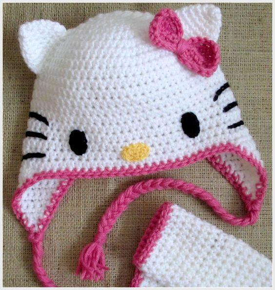 Die schönsten Hello Kitty Baby Ideen zum Häkeln – DIY Bastelideen