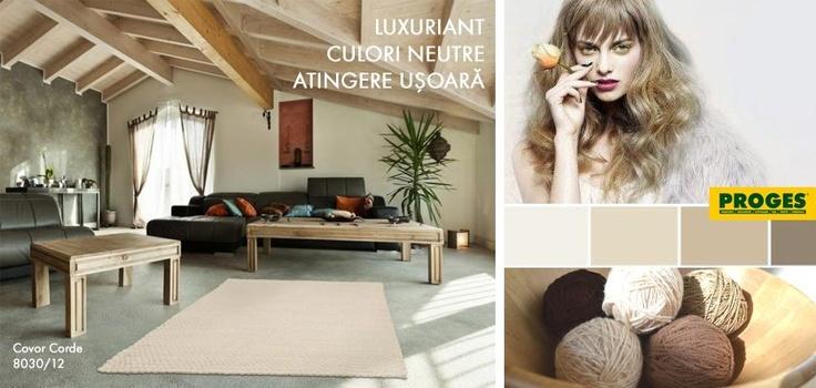 Suprafețe cu aspect nefinisat, accente de mobilier și țesături din materiale prețioase - un nou statement în design interior. Ai nevoie de puțină imaginație, puțin curaj, un fototapet și un covor șic. Ați dori să locuiți în acest ambient?