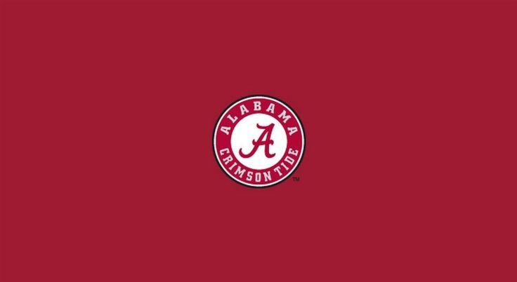 Alabama Crimson Tide Bama Pool Felt Billiard Cloth