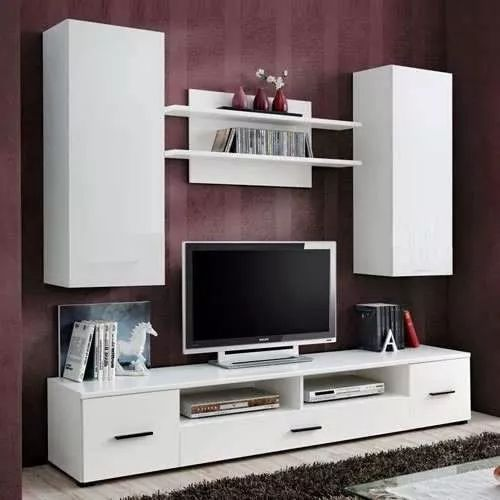 17 best ideas about racks modernos on pinterest - Muebles modernos para tv ...