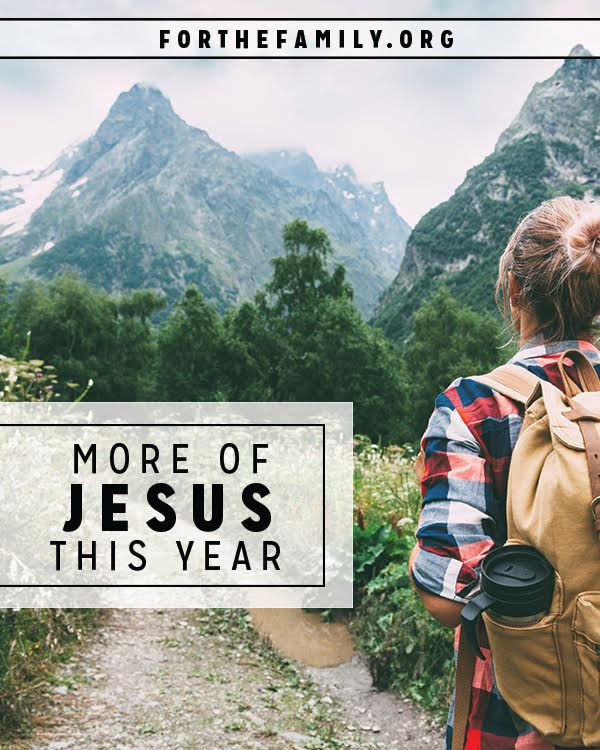 Do you want more of Jesus? Is so easy to say we want our year to be filled with more scripture, more prayer and more praise, but quite another thing to see that come to fruition. Here's how to make 2017 all about Him.