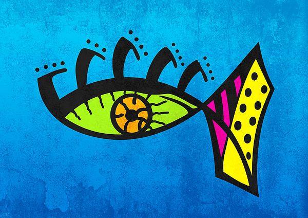 Abstract Eye-fish