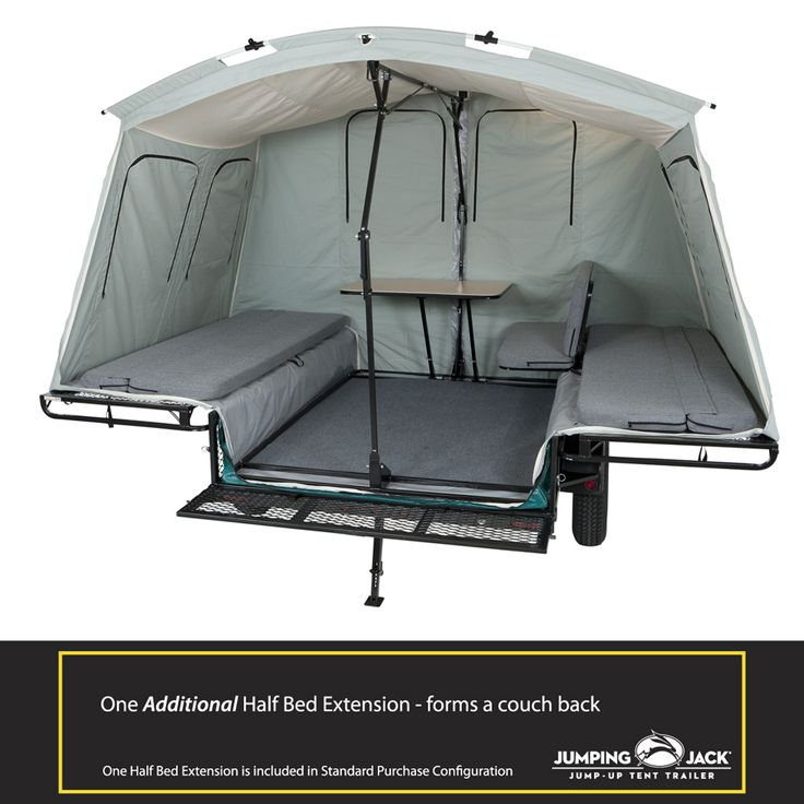 Tent Trailer Accessories | Jumping Jack Trailers