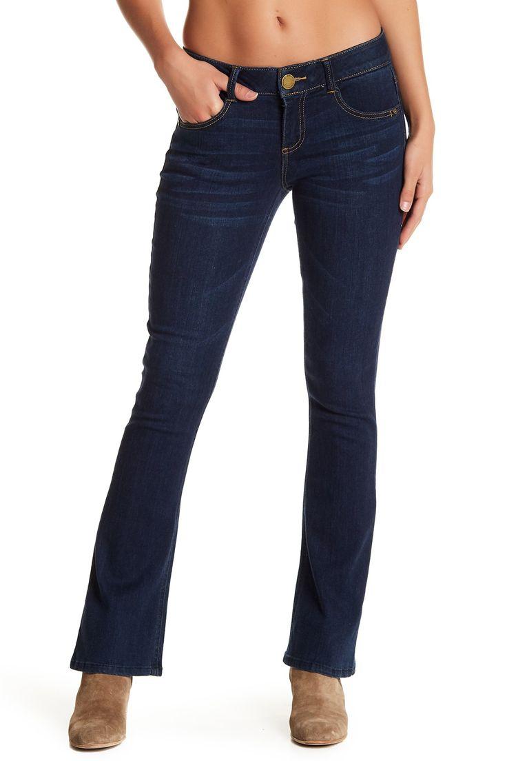 Ab Technology Itty Bitty Bootcut Leg Jeans (Petite)