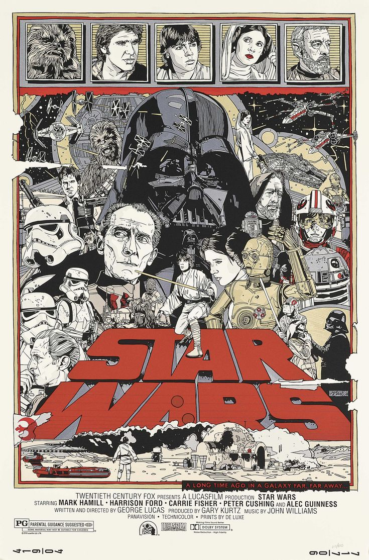 Star Wars by Tyler Stout