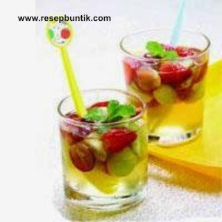 Resep Cara Membuat Es Madu Lemon Segar