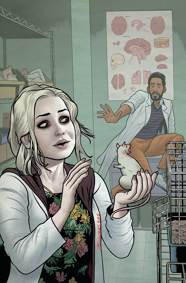 One of these things Is like the other. Liv falls in love with Ravi's zombie rat on #iZombie, tomorrow at 9/8c.