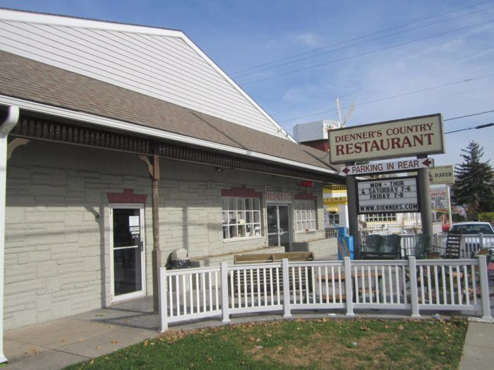 6. Dienner's Country Restaurant – 2855 Lincoln Highway East, Ronks, PA 17572