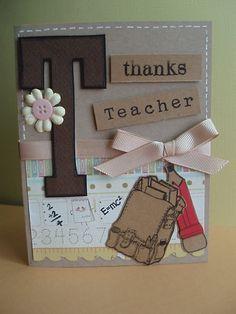 Handmade Teachers Day Cards - Bing Images