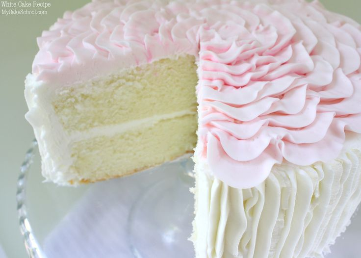 Recipe for white cake