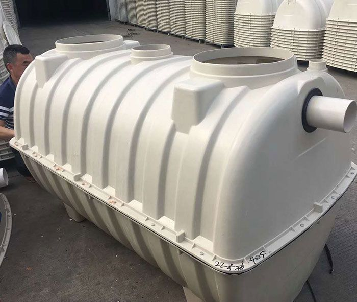 Fiberglass Septic Tank Has Good Tightness And No Leakage During Integrated Production It Covers A Small Area Fiberglass Septic Tank Fiberglass Brick Tank