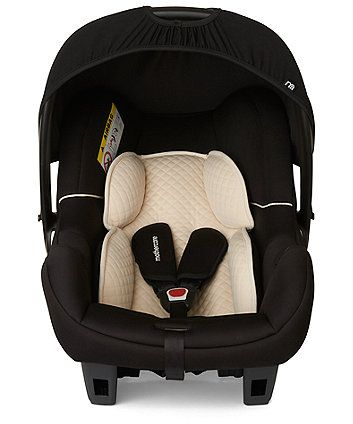 Mothercare Ziba Baby Car Seat - Black.  Rated highly & inexpensive (£70 but check for sales)