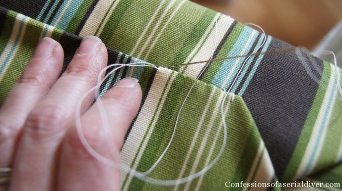 Sew Easy Outdoor Cushion Covers (Part 1) | Confessions of a Serial Do-it-Yourselfer