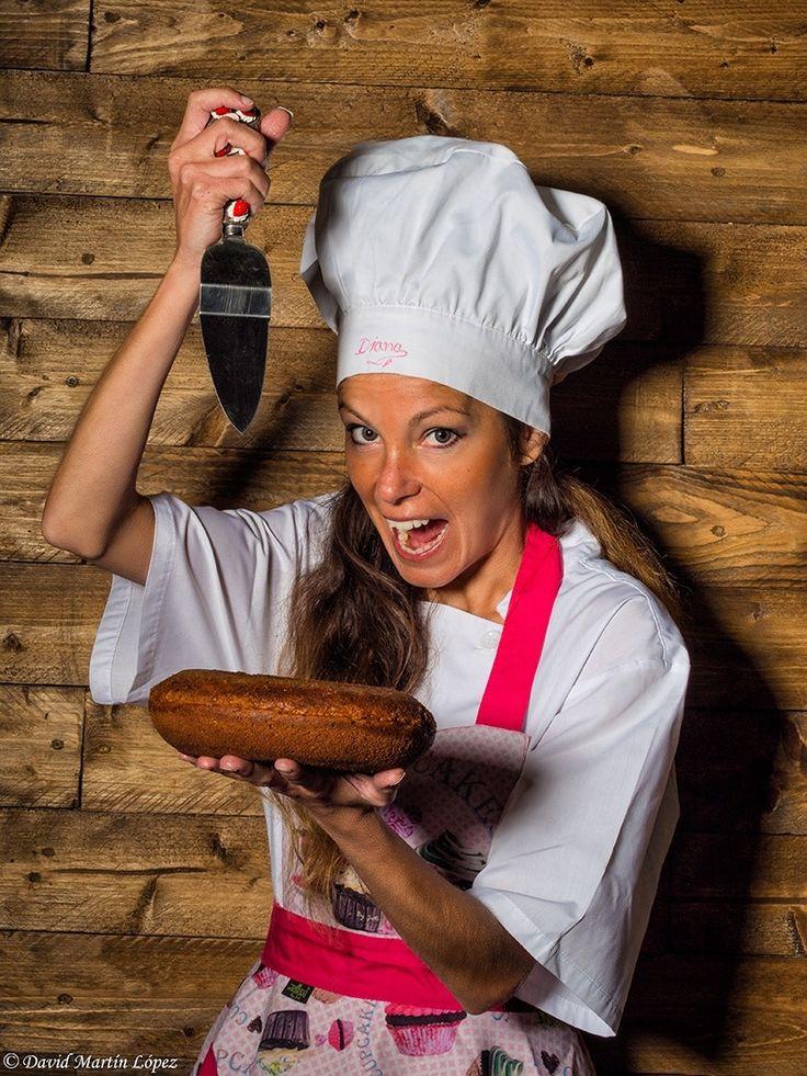 Pastry chef - Model / Modelo: Diana Conde Photography and edition / Fotografía y edición: David Martín López