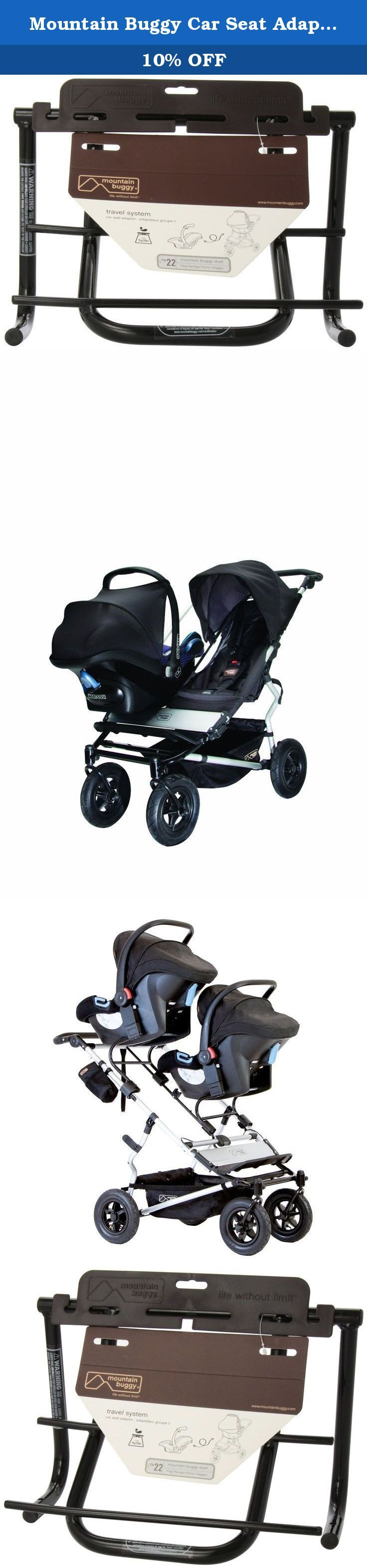 Mountain Buggy Car Seat Adapter for Peg Perego Primo