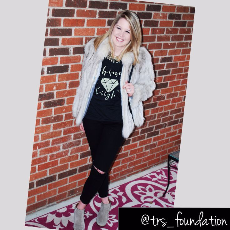 Shine Bright Tee!   Flash Sale ends Feb 28!!!!   Get it from our website!!   www.tinyraysofsunshine@gmail.com