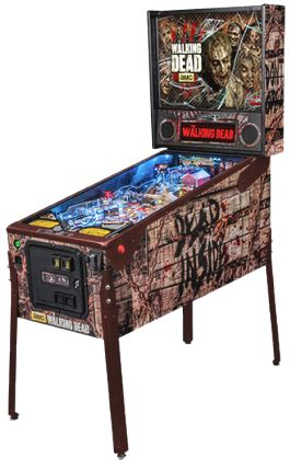 The Walking Dead Limited Edition Pinball Machine | From Stern Pinball |   Get more information about this game at: http://www.bmigaming.com/games-pinball-new.htm