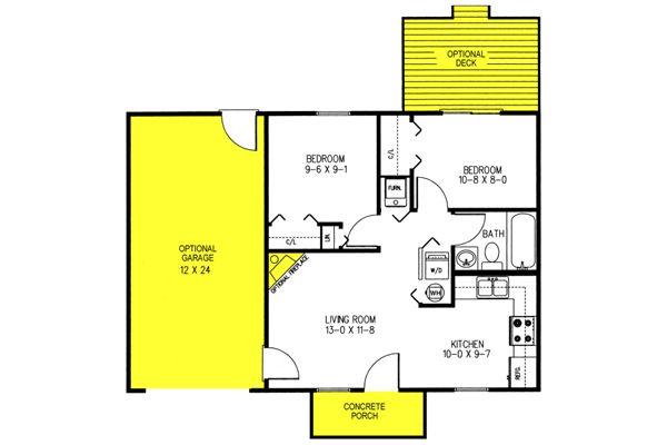Affordable House Plan: Elkview | 84 Lumber