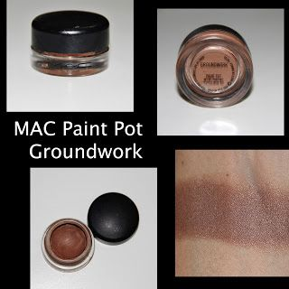 MichelaIsMyName: MAC Paint Pot in Groundwork REVIEW
